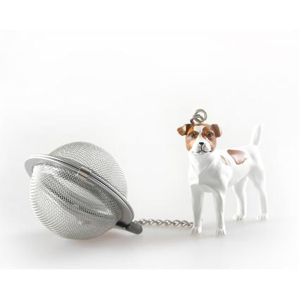 Kancaev Çay Süzgeci Beyaz Köpek