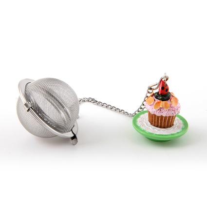 Kancaev Çay Süzgeci Cupcake Pembe