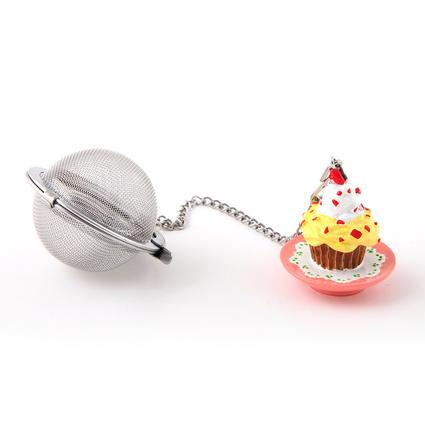 Kancaev Çay Süzgeci Cupcake Sarı