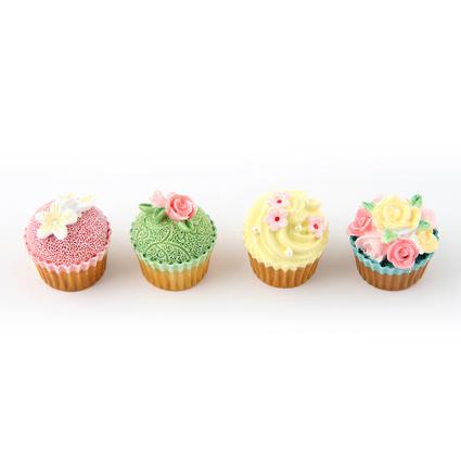 Kancaev 4lü Magnet Set Cupcake