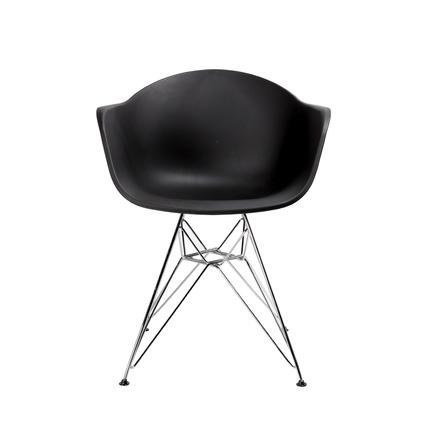 Altıncı Cadde Star Siyah Sandalye