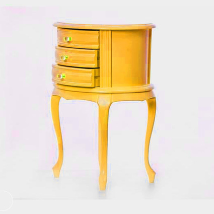 Albero Home Avangard Komodin Sarı