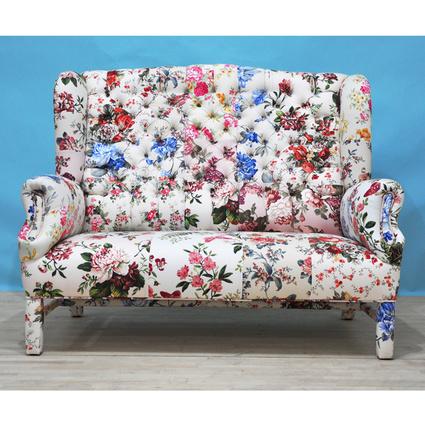 Name Design Studio Floral 2'li Kanatlı Berjer