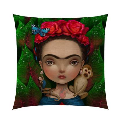 by Nihalce Frida 5 Kırlent 40x40 cm