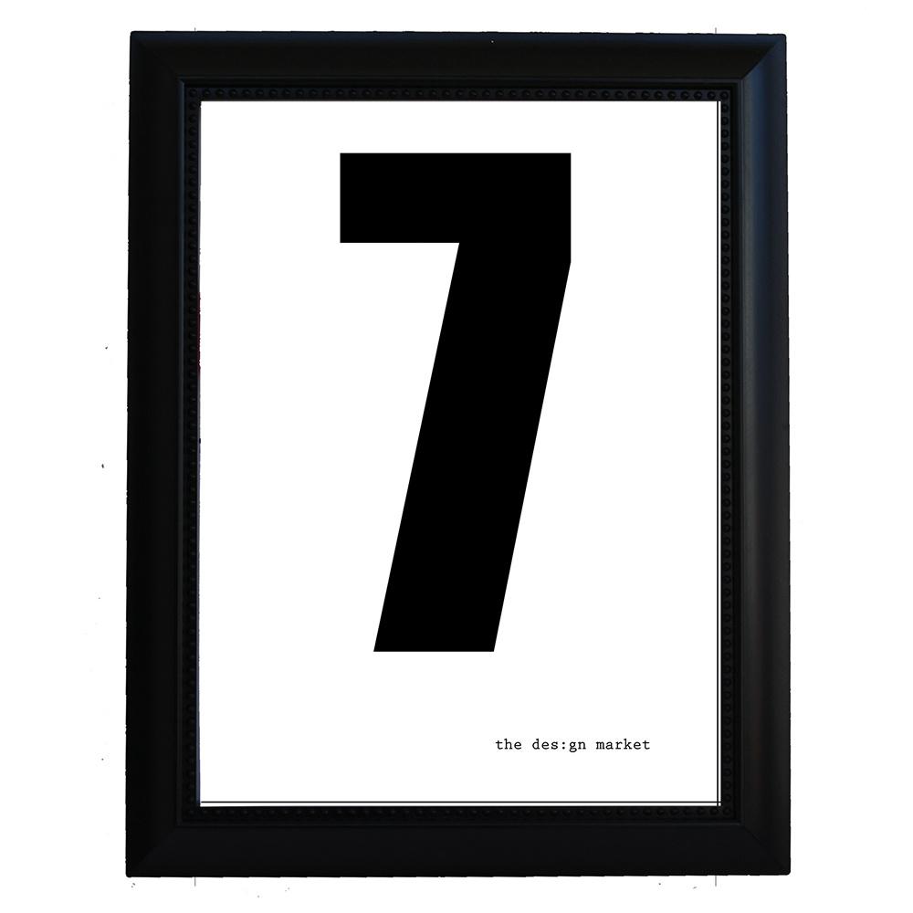 7 Çerçeveli Poster