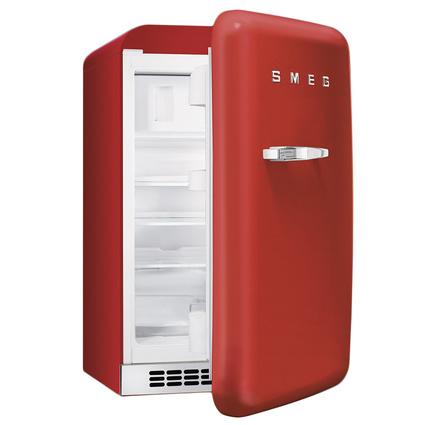 Smeg FAB10RR Retro Mini Buzdolabı Kırmızı A+