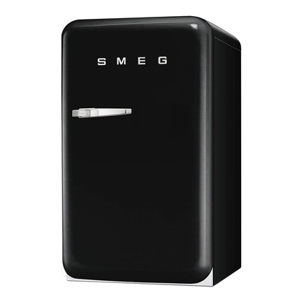 Smeg FAB10RNE Retro Mini Buzdolabı Siyah A+