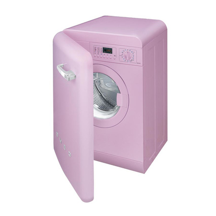 Smeg LBB14RO Çamaşır Makinası 1600 Devir- Pembe