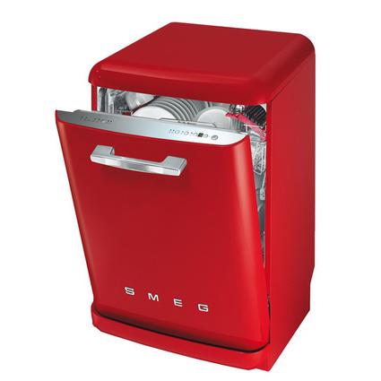 Smeg BLV2R-2 Bulaşık Makinesi- Kırmızı