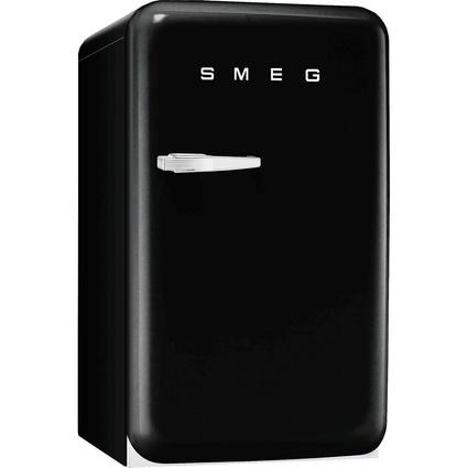Smeg FAB10HRNE-İçecek Soğutucu - Sağa-Sola Açılabilen Kapı - Siyah