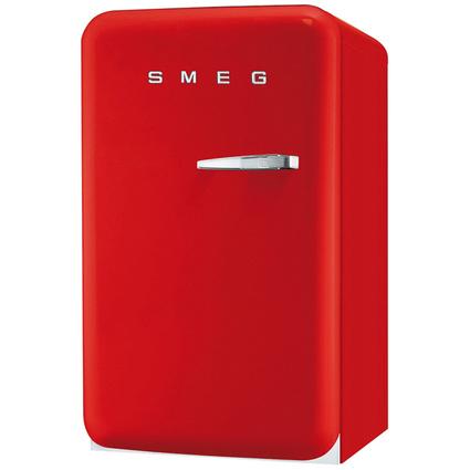 Smeg FAB10HRR-İçecek Soğutucu - Sağa-Sola Açılabilen Kapı - Kırmızı