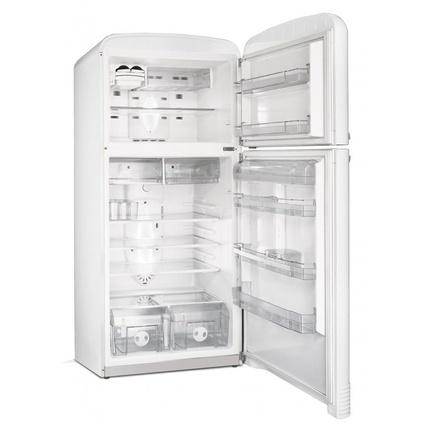 Smeg Fab 50BS Retro Buzdolabı Beyaz484lt