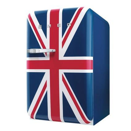 Smeg FAB10RUJ Mini Buzdolabı Bayrak Özel Koleksiyon A+