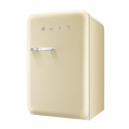 Smeg FAB10RP Retro Mini Buzdolabı Krem A+