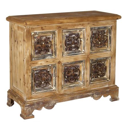 Wenge Home Masif Mango Wood Konsol 118x47x100cm