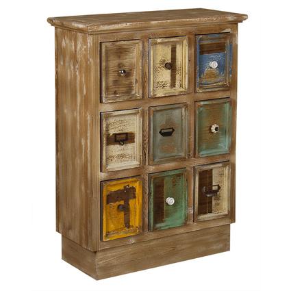 Wenge Home Masif Mango Wood Konsol 71x31x97.5 Cm