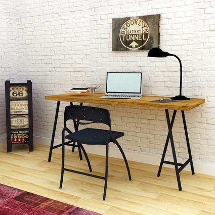 Archi Ahşap Atölyesi Pierce Çalışma Masası 180 Cm