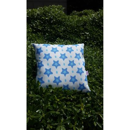 Aliz Yastık Kılıfı Mavi Yıldız