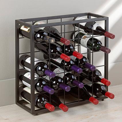 Urbanoloji Vino Metal Şaraplık