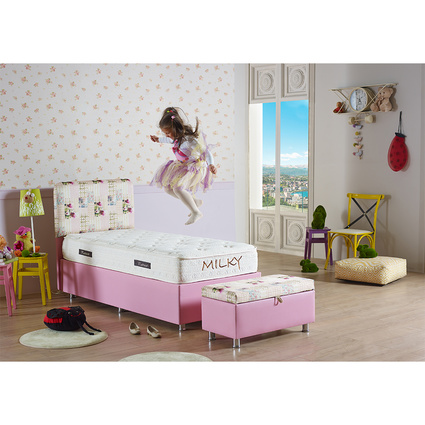 Mattrest Pinky Baza & Başlık Set 100x200 Cm