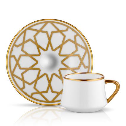 Koleksiyon Sufı Turk Kahvesı Seti 6Lı Yıldız