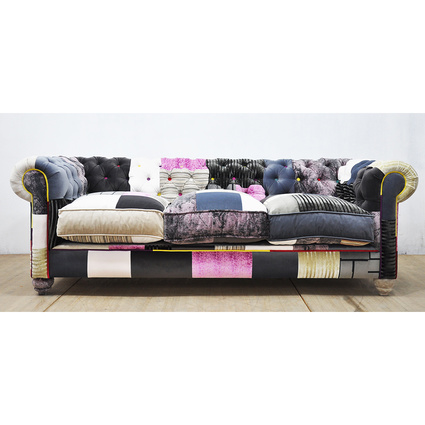 Name Design Studio Chesterfield Patchwork Kanepe