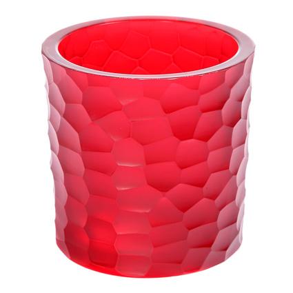 Altıncı Cadde Kırmızı Kesme Vazo 10cm