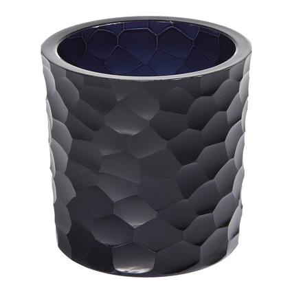 Altıncı Cadde Siyah Kesme Vazo 10cm