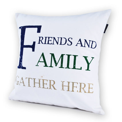 Casual Avenue Quote Family Kırlent 40X40