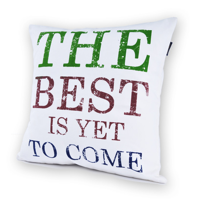 Casual Avenue Quote The Best Kırlent 40X40