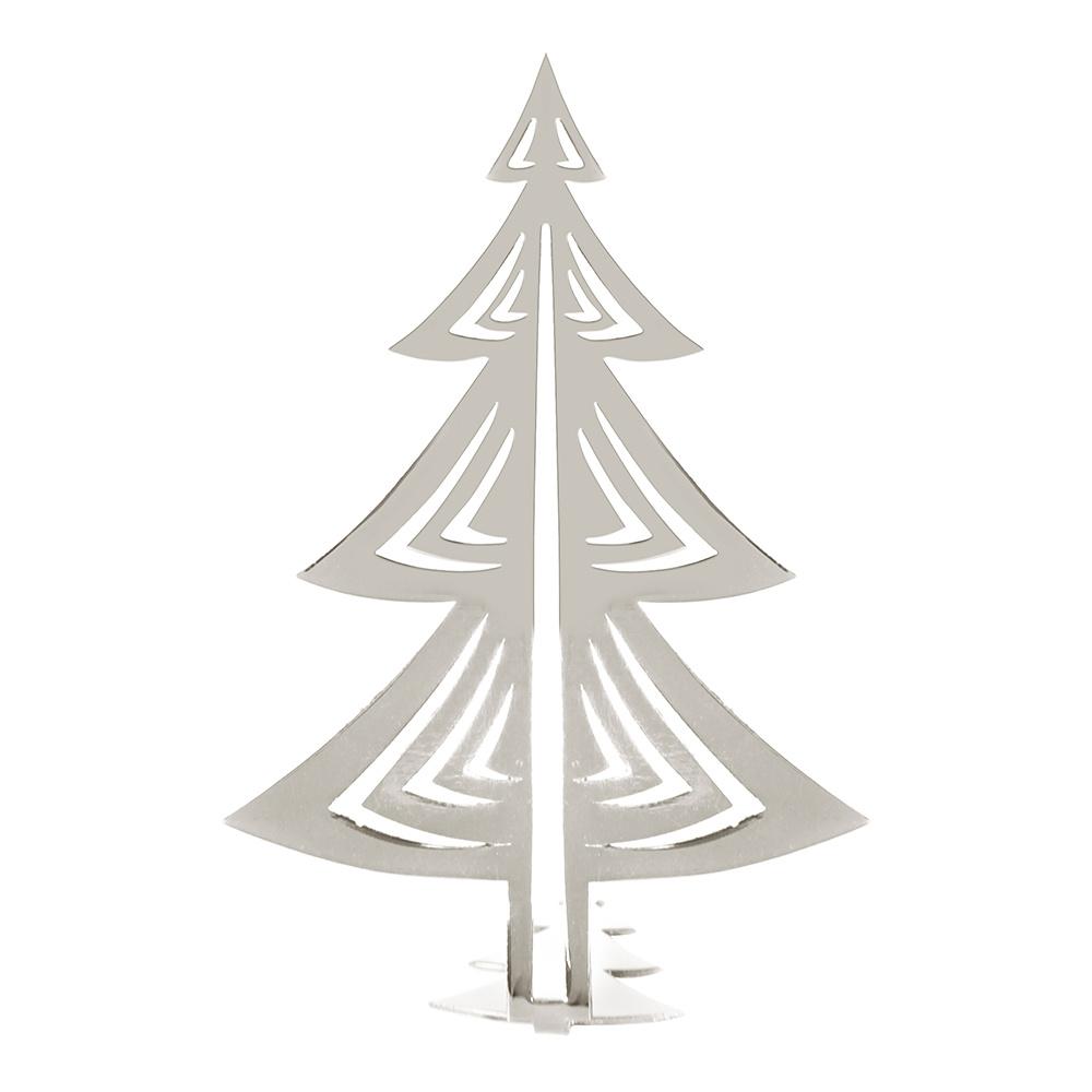 Yılbaşı Ağacı Gümüş 17cm