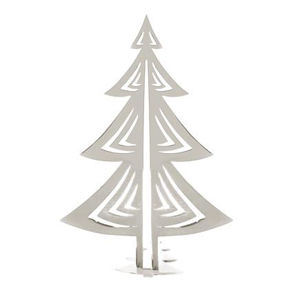 Altıncı Cadde Yılbaşı Ağacı Gümüş 17cm