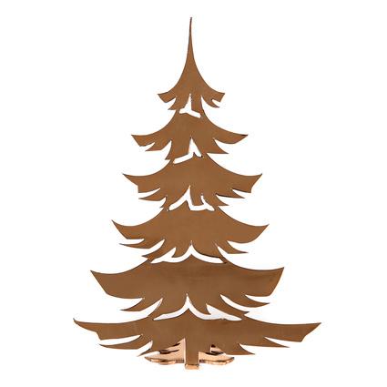 Altıncı Cadde Yılbaşı Çam Ağacı Bronz 17cm