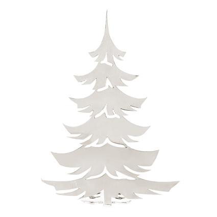 Altıncı Cadde Yılbaşı Çam Ağacı Gümüş 17cm