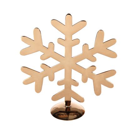 Altıncı Cadde Ayaklı Kar Tanesi Bronz 18cm