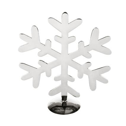 Altıncı Cadde Ayaklı Kar Tanesi Gümüş 18Cm