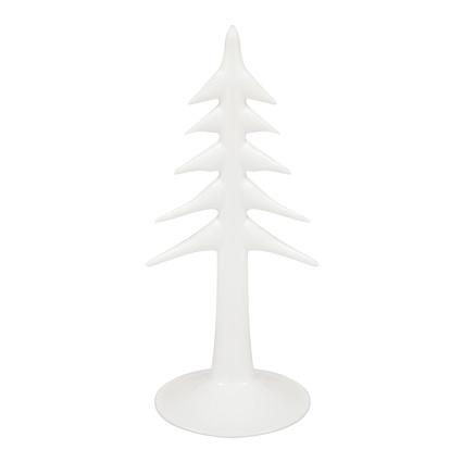 Altıncı Cadde Cam Çam Ağacı Beyaz 23Cm