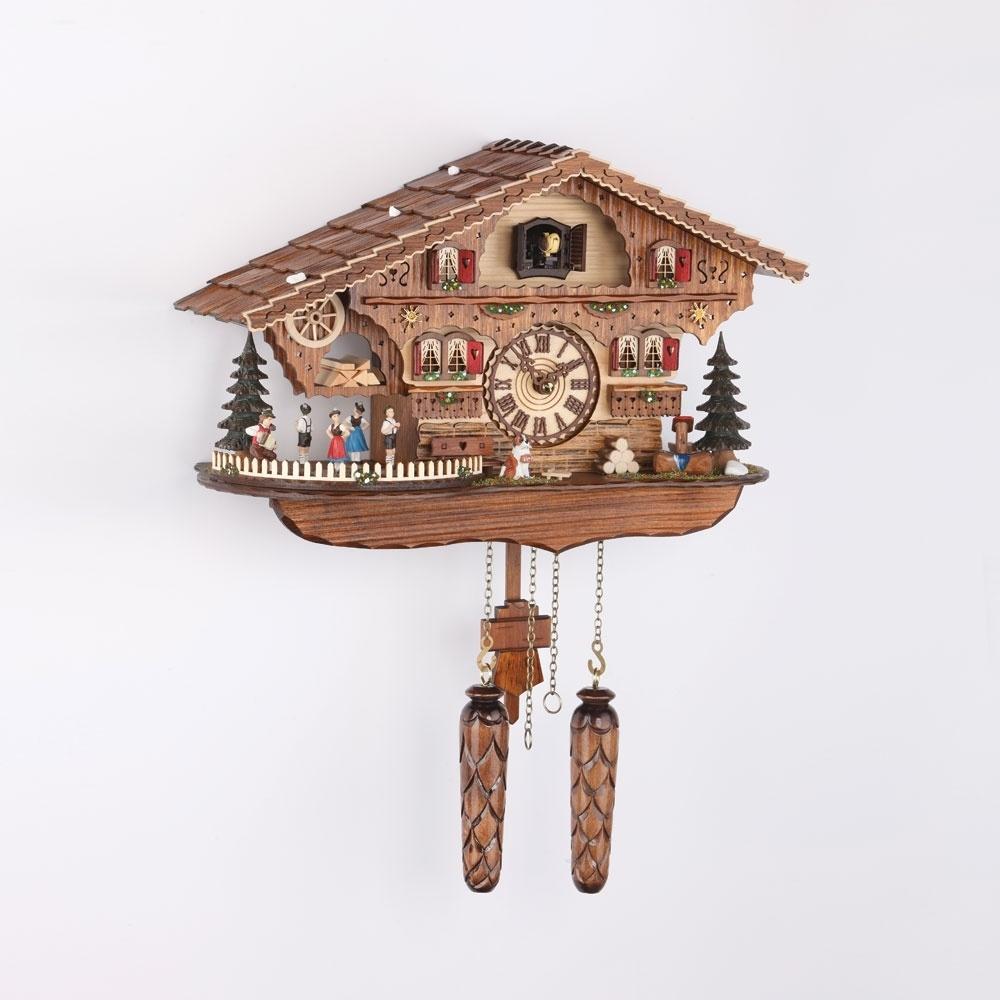Regal Saat Gugulu 32cm Melodili Çatılı Ürün Resmi