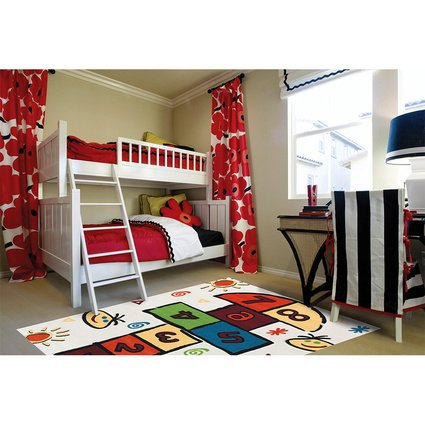 Festival Picaso Concept Tasarım Çocuk Odası Halısı
