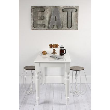 Woodenbend Oslo Beyaz Çalışma-Mutfak Masası