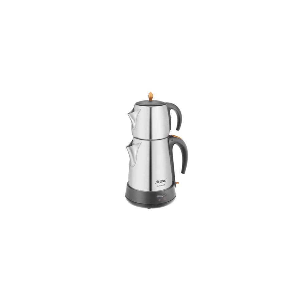 Ar3004 Çaycı Klasik Çay Makinesi Mat Inox