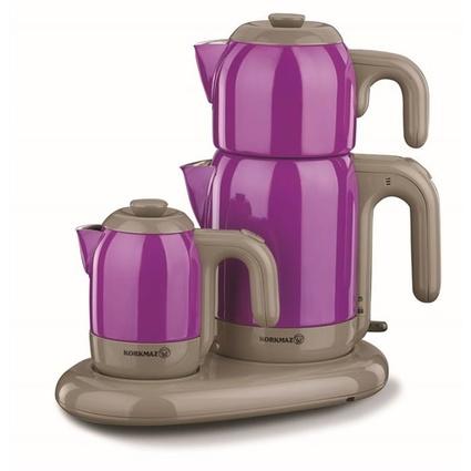 KORKMAZ Korkmaz A353-07 Mia Çay Kahve Makinesi Mor