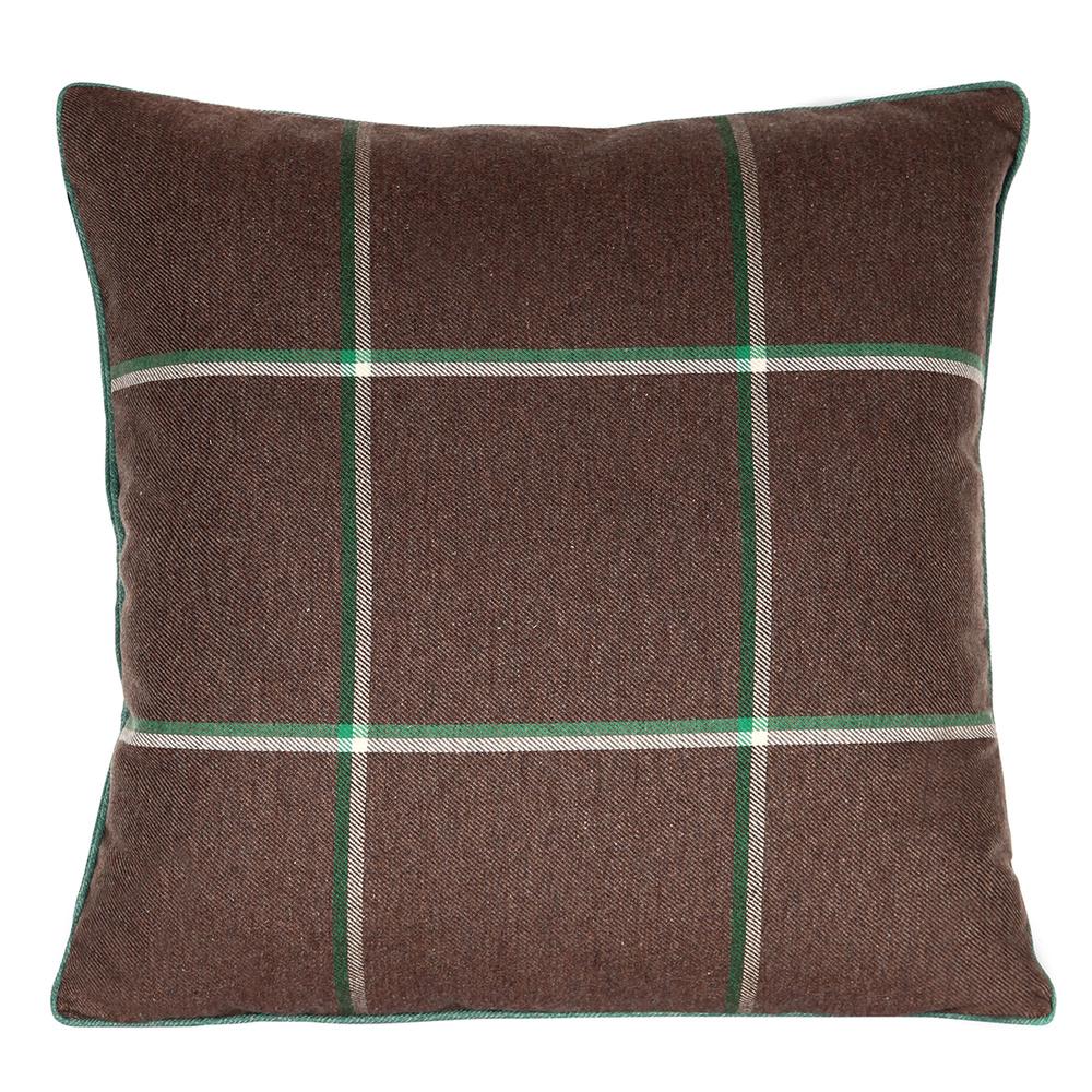 Aziziye Kahverengi Yastık 50x50 Cm