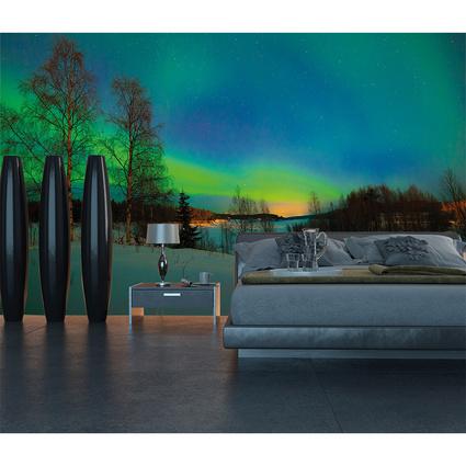 Mot Interior Aurora Borealis Poster Duvar Kağıdı 4-116