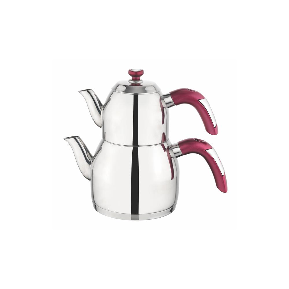 Soft Çaydanlık - Bordo