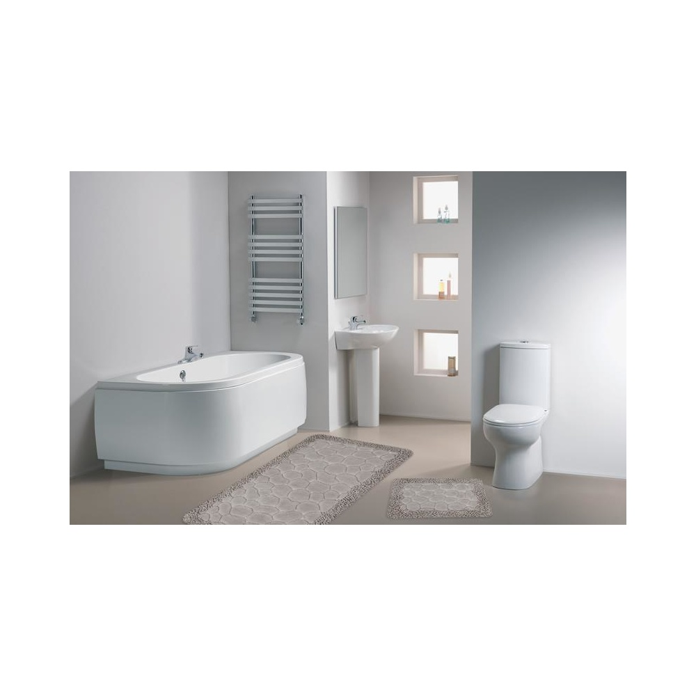 Sts02 Spagetti 2 Lİ Banyo Klozet Takımı Vizon