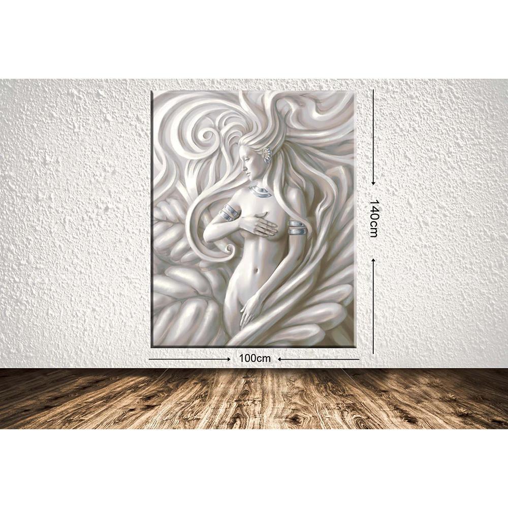 Tablo Center 100Cm X 140Cm Dev Boyut Dekoratif Kanvas Tablo Ürün Resmi