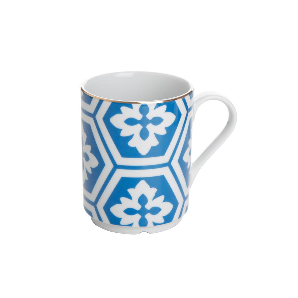 Porland Morocco Kupa Desen2 Mavi 345cc Ürün Resmi