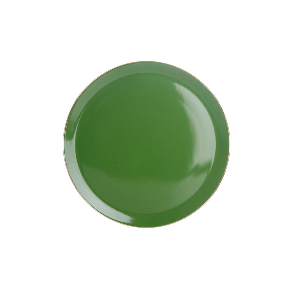 Porland Morocco Düz Tabak Yeşil 32cm Ürün Resmi