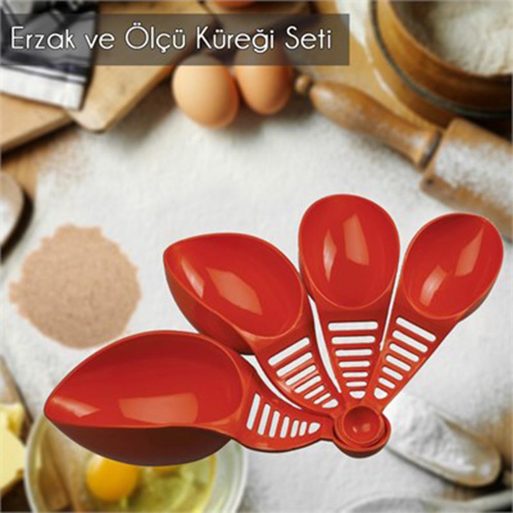 Emka Erzak ve Ölçü Küreği (4 Farklı Boy) Ürün Resmi